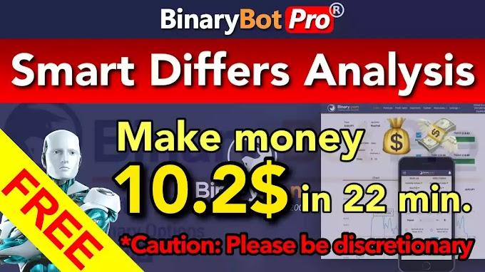 Smart Differs Analysis | Binary Bot Pro