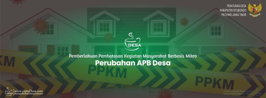 Perdes Perubahan APB Desa 2021 (PPKM)