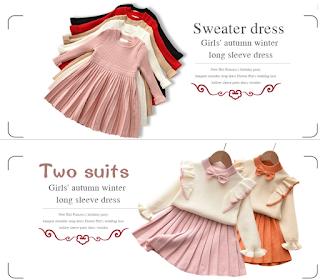 KLFLGD Autumn Girls Dress
