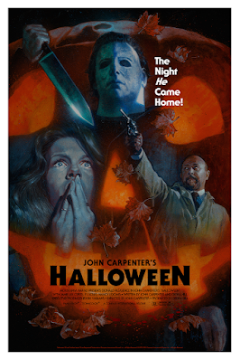 New York Comic Con 2021 Exclusive Halloween Screen Print by Hugh Fleming x Bottleneck Gallery