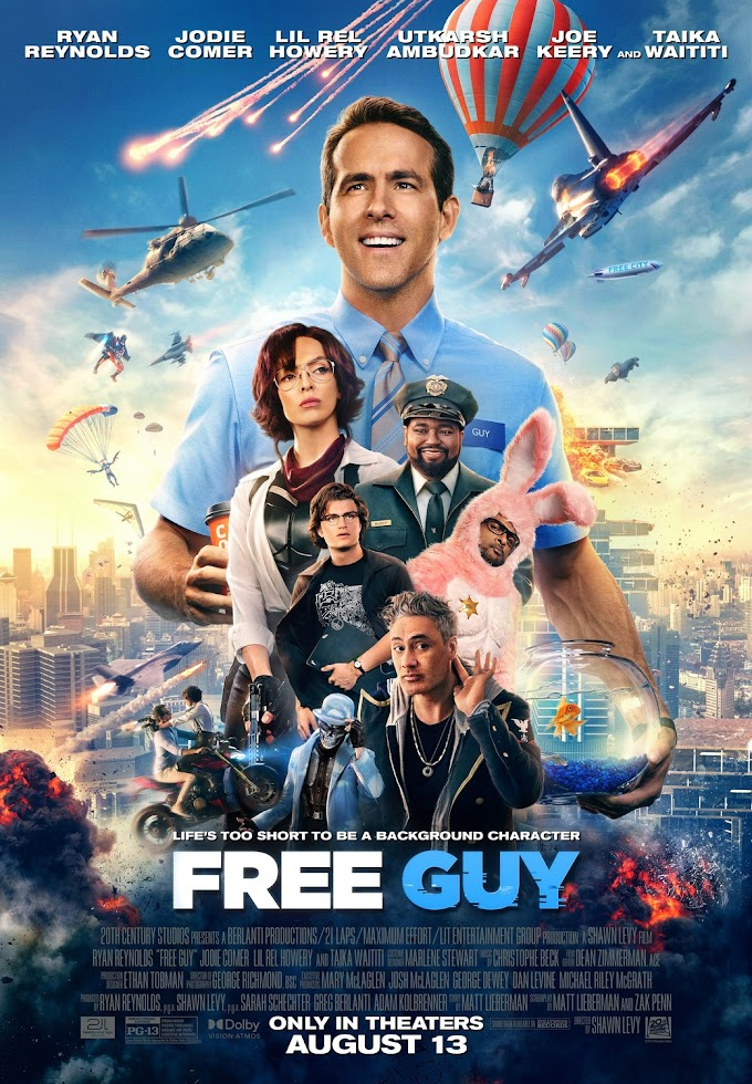 Free Guy Movie Review - Free Guy Movie Free Download