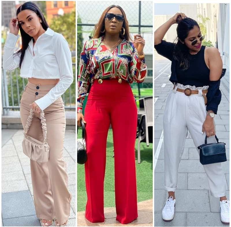 Latest trousers/pants for ladies