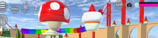 ID Roller Coaster Rainbow Di Sakura School Simulator