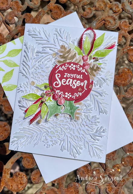 Share a joyful season with those you care about by gifting a special Christmas card, designed by Andrea Sargent, Australia.