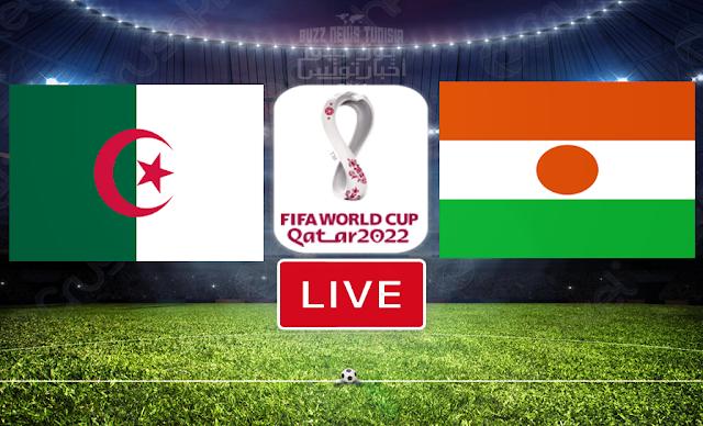 Match FootBall: Algérie vs Niger En Direct En Direct | FIFA World Cup Qatar 2022 Qualifier