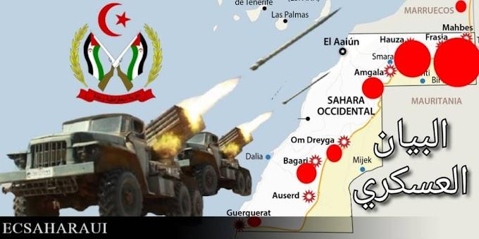 🔴 البلاغ العسكري 334 : حرب الصحراء الغربية.