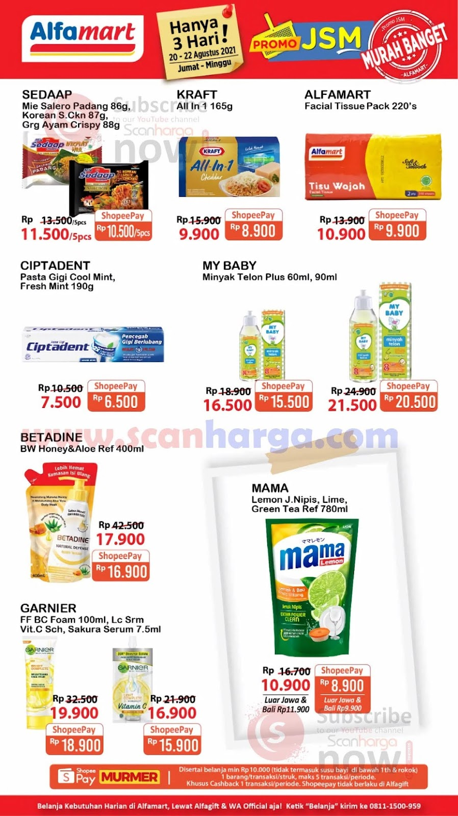 Katalog Promo JSM Alfamart Weekend 20 - 22 Agustus 2021 2