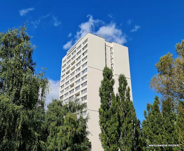 Warszawa Warsaw Żoliborz modernizm modernism architektura warszawskie osiedla Bogusław Chyliński lata 60. bloki blok