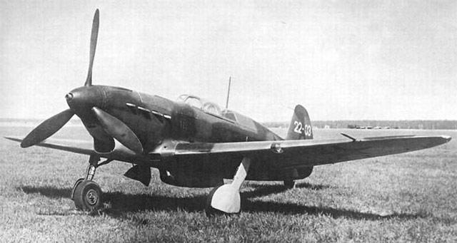 Yak-7B prototype 5 June 1942 worldwartwo.filminspector.com
