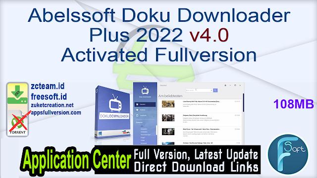 Abelssoft Doku Downloader Plus 2022 v4.0 Activated Fullversion
