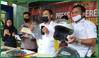 Satreskrim Polres Jember, Press Release Ungkap Tindak Pidana Penjambretan