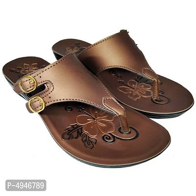 Womens Synthetic Leather Flats Online Shopping   Flats Online Sandals   Sandals Online  