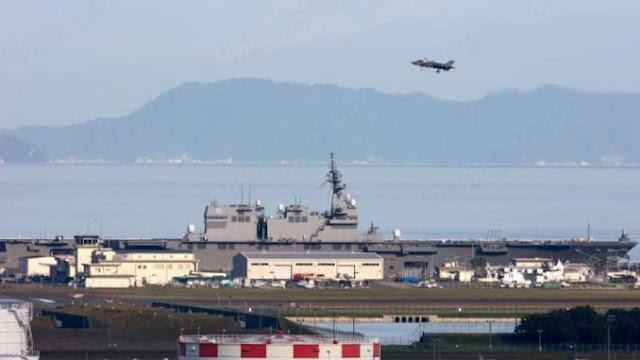 Kapal Induk Pertama Jepang Sejak PD II Mulai Latihan
