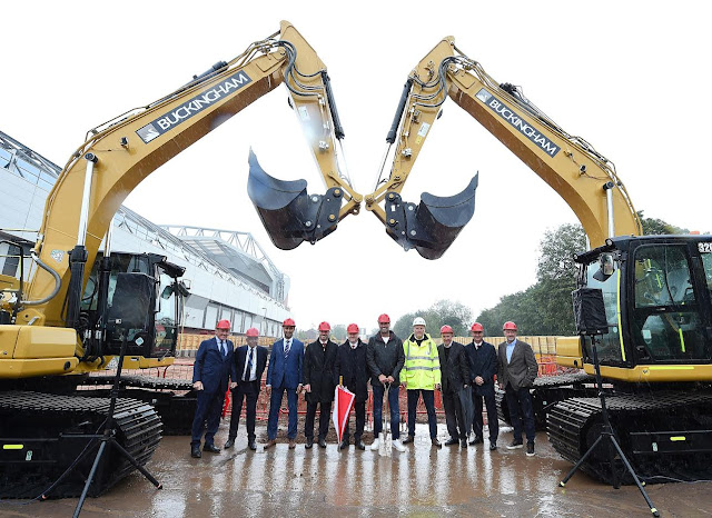 LFC holds ground-breaking ceremony for Anfield Road Stand expansion
