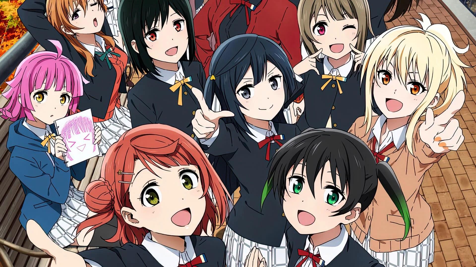 Segunda Temporada de Love Live! Nijigasaki Gakuen School Idol Doukoukai estreia em Abril de 2022