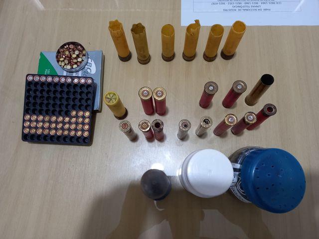 Polícia Civil prende agricultor por posse irregular de munição em Sete Barras
