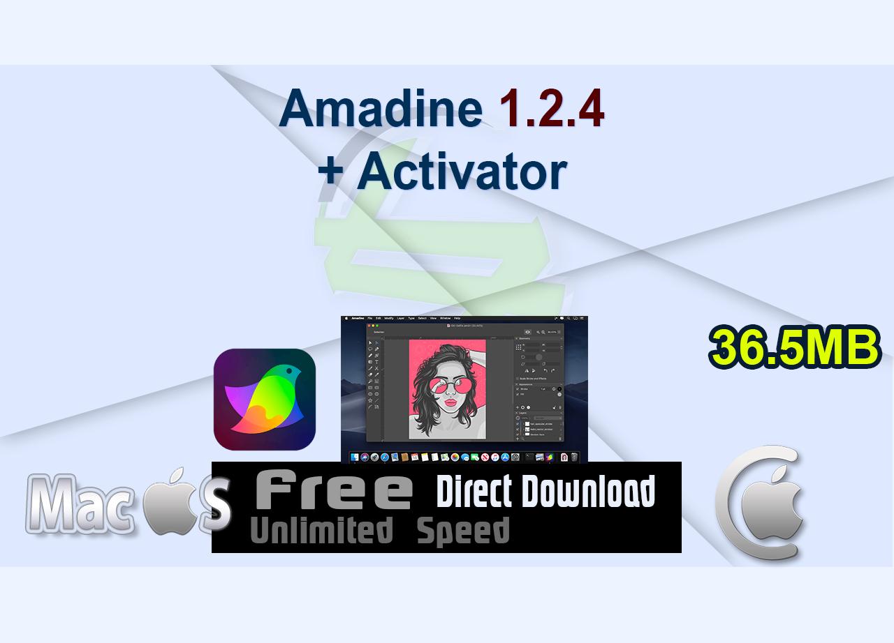 Amadine 1.2.4 + Activator _CenterMac