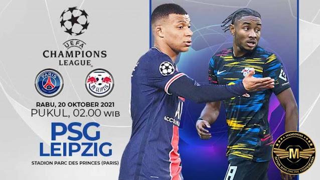 Prediksi Paris Saint Germain Vs RB Leipzig