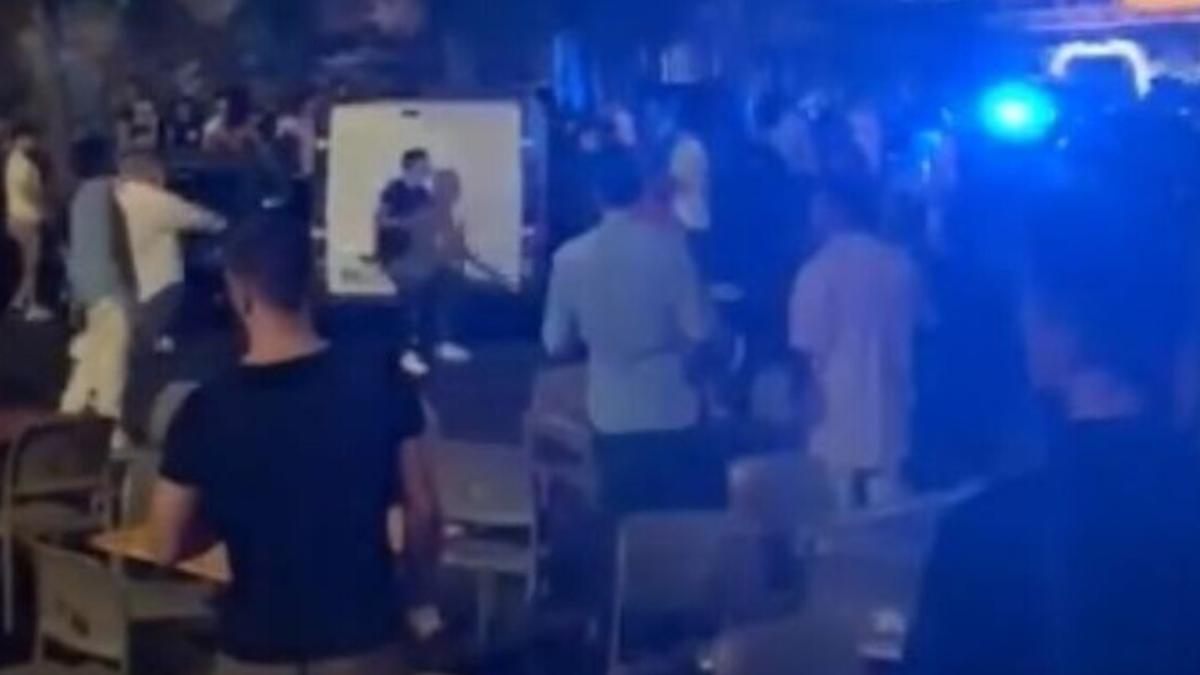 rissa piazza Currò daspo T.G. Polizia di Stato