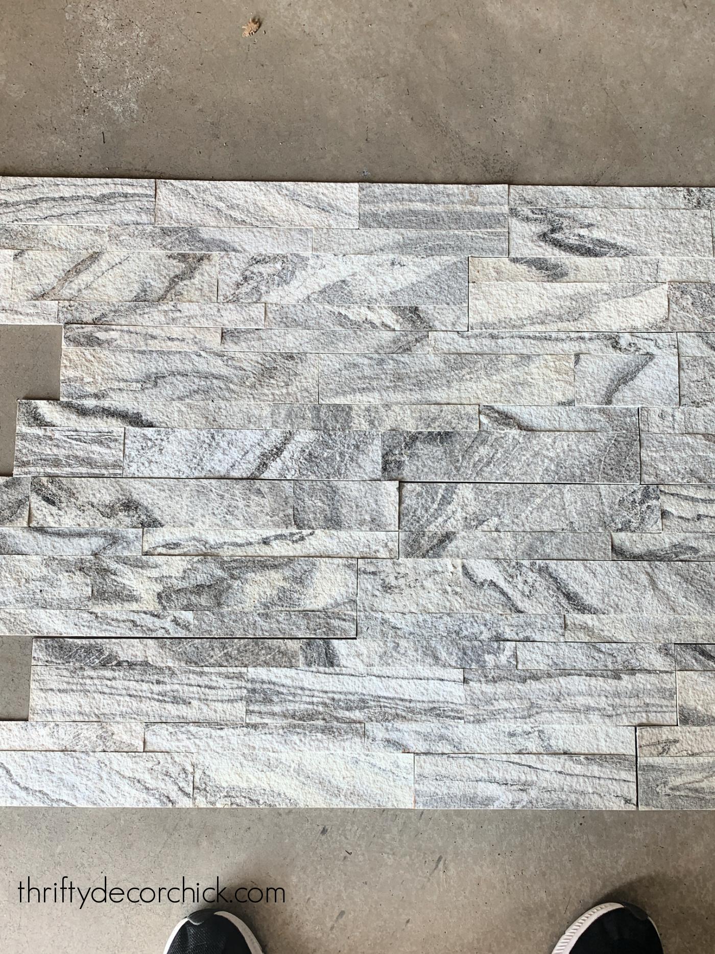 SimplInstall aspen white marble tile