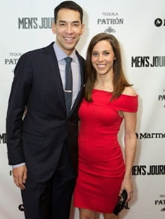 Morgan Holt with her hubby Stefan Holt