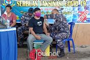 Demi Masyarakat Sehat TNI AL - Lanal Tolitoli Kembali Tuntaskan Serbuan Vaksin Covid-19