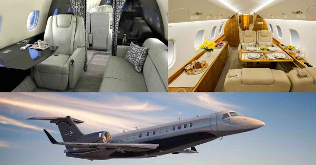 Most Luxurious Private Planes In The World - Embraer Legacy 650 - Moniedism