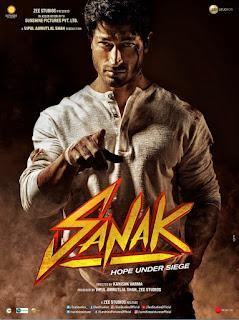 Sanak Full Movie Download Filmyzilla