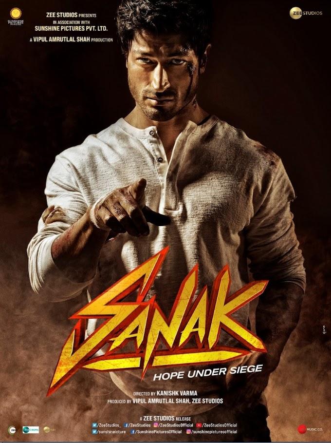 Sanak Full Movie Download Mp4moviez