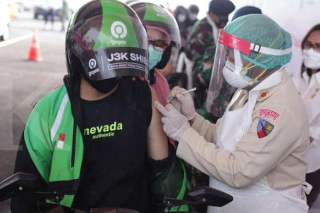 Cara Upload Sertifikat Vaksin di Gojek dan Grab Driver