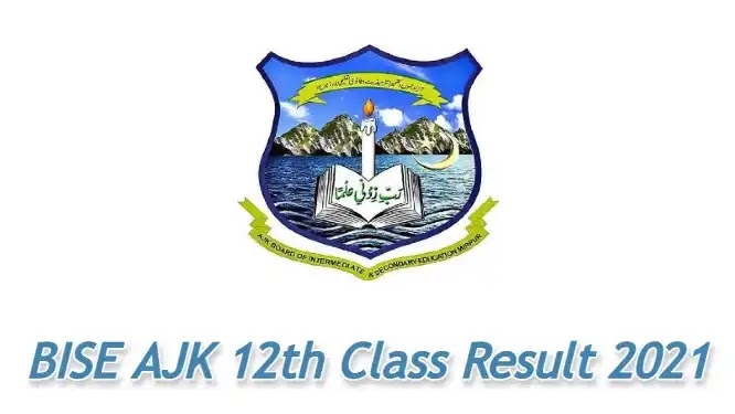 AJK BISE Mirpur 12th Class Result 2021