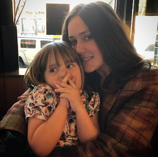 Picture of Dan Estabrook's partner Megan Boone & daughter Caroline