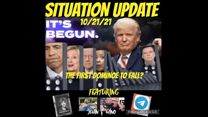 Situation Update: It's Begun! First Domino About to Fall - EBS & Military Event!! MSM Takedown! Juan O Savin Clip - Must Video