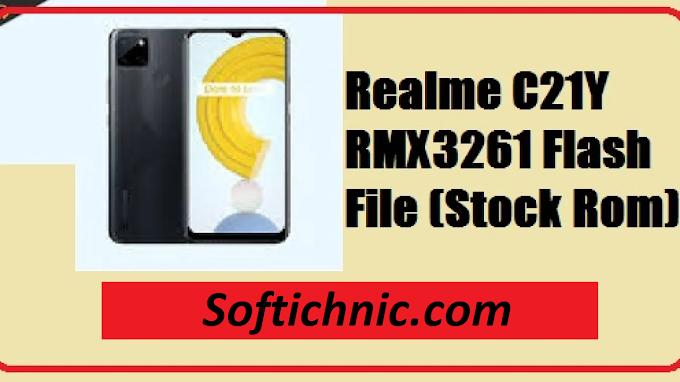 Realme C21Y RMX3261 latest flash file