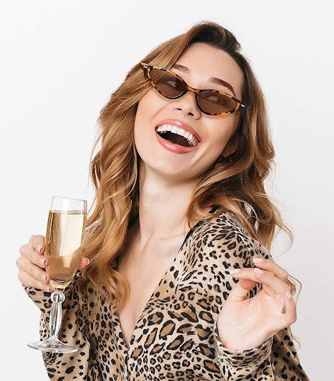 Cheap Leopard Cat Eye Sunglasses