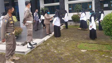Ujian SKD CPNS di Padang Panjang