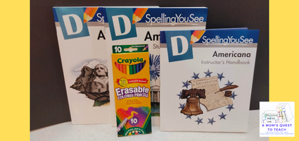 A Mom's Quest to Teach:  Building Spelling Confidence: A Review of Spelling You See - Level D - Spelling books