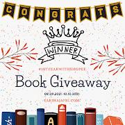 Tahniah kepada Pemenang Book Giveaway #1stYearwithShopee by farihajafri.com