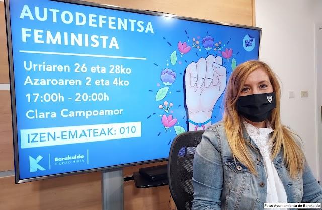 El Ayuntamiento de Barakaldo abre el plazo para inscribirse en un taller de autodefensa para mujeres
