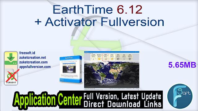 EarthTime 6.12 + Activator Fullversion