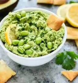طريقة عمل حمص ادامامي,Edamame Hummus,وصفة حمص ادامامي Edamame Hummus