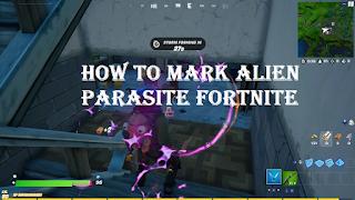 Mark an alien parasite fortnite, How to Mark an Alien Parasite for the Week 11 Challenge