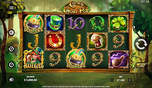 Main Gratis Slot Indonesia - Lucky Gold Pot Stakelogic