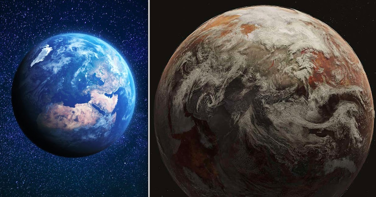 The Earth Will Be Oxygen Starved Ending Most Known Lifeforms According To New Research