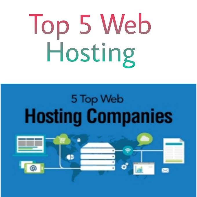 Top 5 Web Hosting