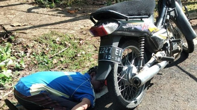 Warga Pracimantoro Ditemukan Meninggal di Pinggir Jalan, Posisinya Seperti Orang Sujud