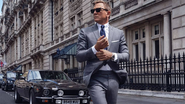 Daniel Craig como James Bond. Fotograma de EON Productions.