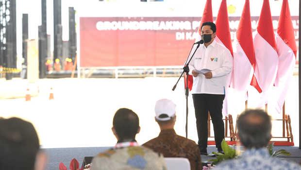 Erick Thohir Sesumbar Untung Freeport Naik 100 Persen, Natalius Pigai: Papua Dapat Apa?