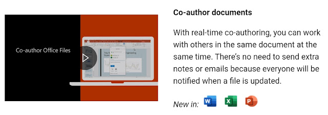 Real-time co-authoring