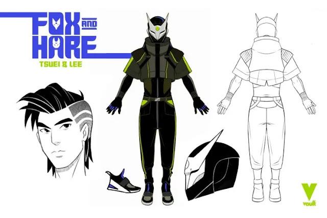 Vault anuncia la serie cyberpunk Fox and Hare.